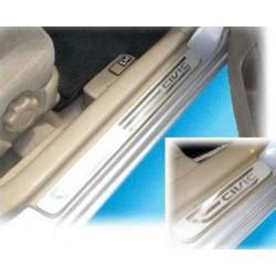 Seuils de porte en inox Honda Civic
