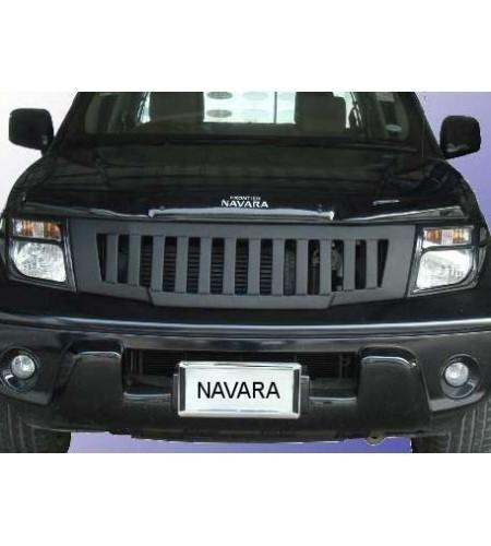 Calandre noire style Hummer Nissan Navara D40