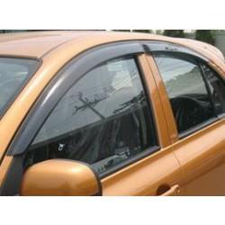 Déflecteurs de portes Nissan Micra