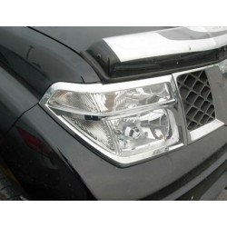 Habillage de phare et feux chrome Nissan Navara