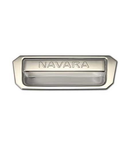 Poignée de benne chrome Nissan Navara D40