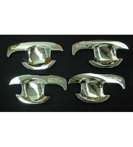 Protection poignées de portes chrome Nissan Micra