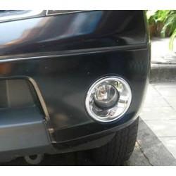 Habillage de projecteur anti brouillars Nissan Navara D40