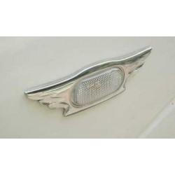 Habillage de clignotant latéraux chrome Nissan Navara
