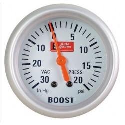 Jauge pression suralimentation turbo encastrable