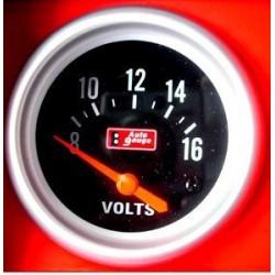 Jauge voltmètre encastrable