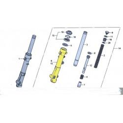 Foureau de fourche droit ou gauche pour le scooter Honda PCX 125 Pièce moto d'origine Honda.