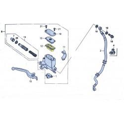 Diaphragme Maitre cylindre avant pour le scooter Honda PCX 125 Pièce moto d'origine Honda.