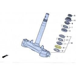 Cache poussière de fourche pour le scooter Honda PCX 125 Pièce moto d'origine Honda.