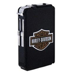 Etui à cigarettes automatique HARLEY DAVIDSON avec briquet à gaz intégré