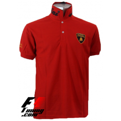 Polo Lamborghini Team Racewear rouge