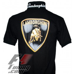 Polo Lamborghini Team Racewear noir