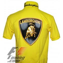 Polo Lamborghini Team Racewear jaune