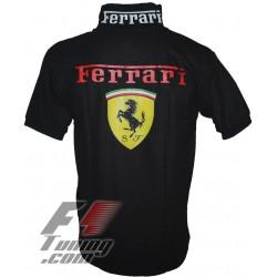 Polo Ferrari Team formule-1 noir